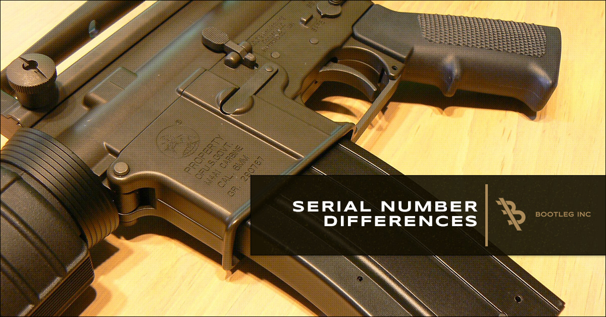 Serial Numbers – The Difference Between AR 15 Uppers and