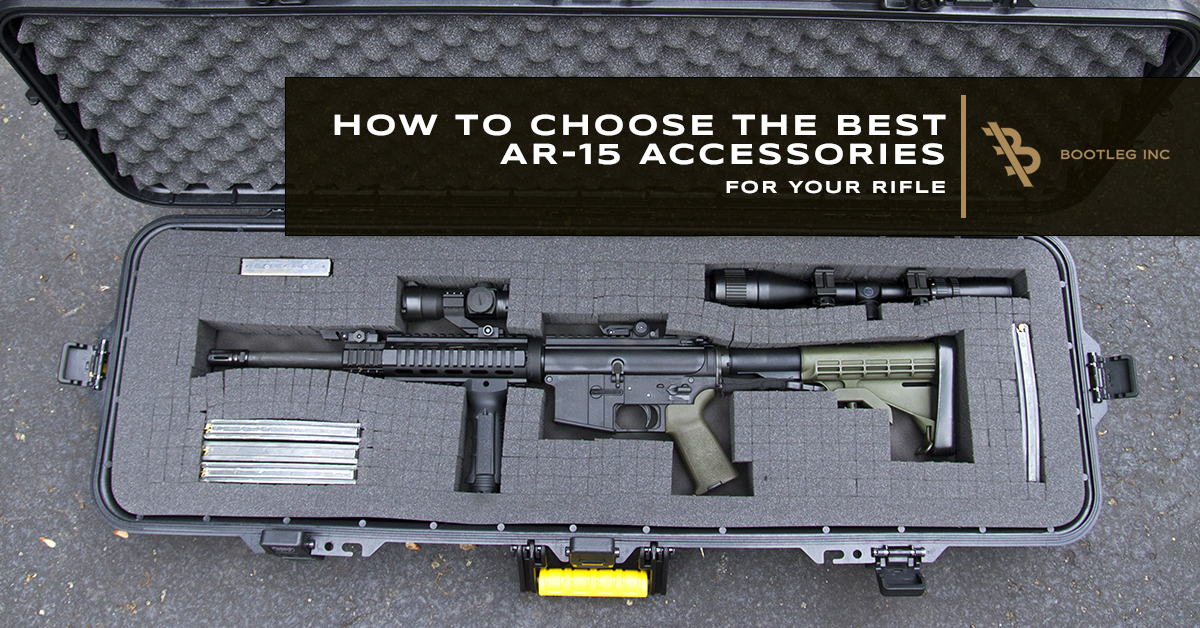 What To Consider When Choosing AR-15 Accessories